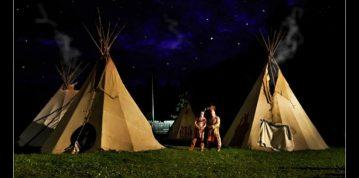 Indiáni, Tee Pee, kone a lukostreľba
